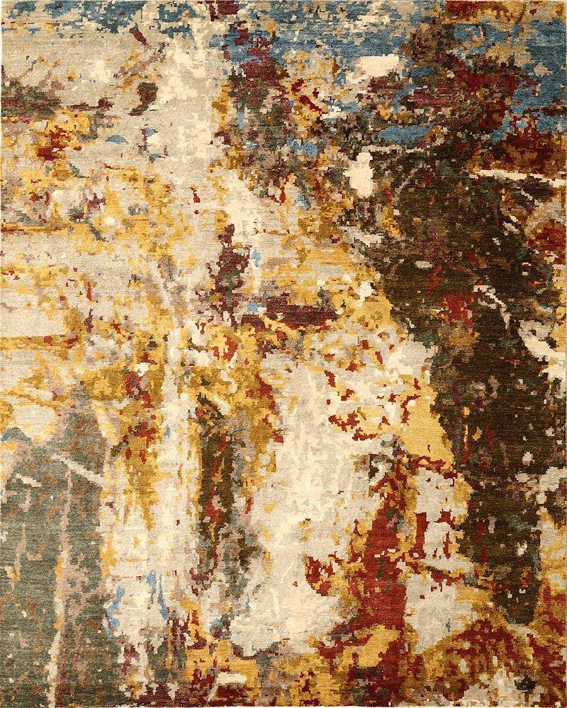 Sara Guerrero - alfombras a medida - canvas rugs - alfombras de bambú