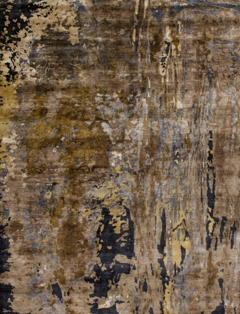 Sara Guerrero - Canvas rug - Alfombra de bambú