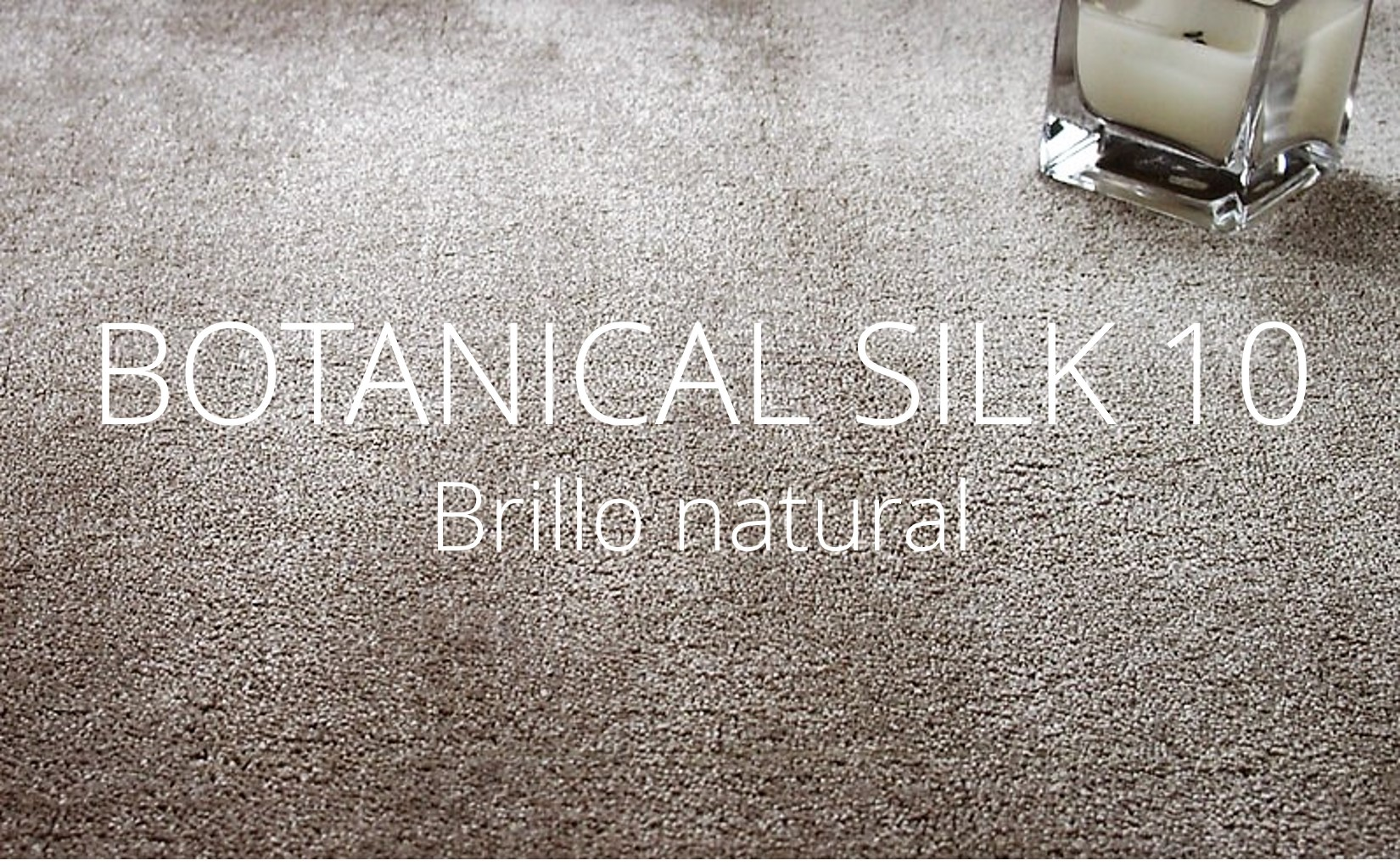 Alfombra a medida de botanical silk 10 - brillo natural